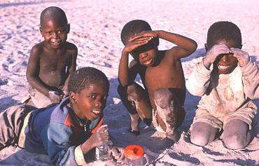 Kinder in Botswana