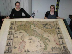 Abbildung 1: Atlas des Großen Kurfürsten, Amsterdam: Blaeu um 1664.