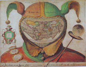 Abbildung 10: Nosce te ipsum; Die Welt unter der Narrenkappe ca. 1590 (Archiv Vf.).