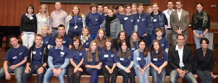 Schüler der Leopold-Ullstein-Realschule in Fürth