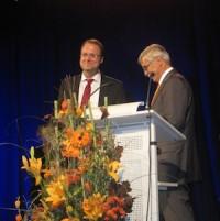 Prof. Dr. H. Popp mit Dr. Daniel Schiller