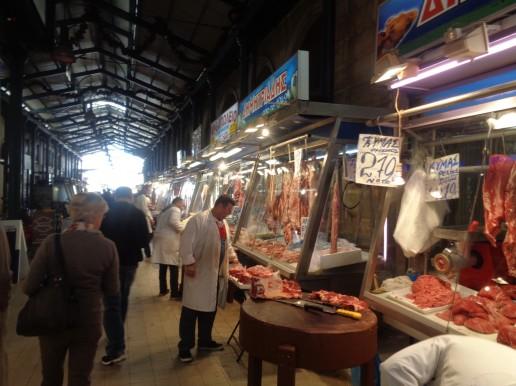 Trigono, Fleischmarkt