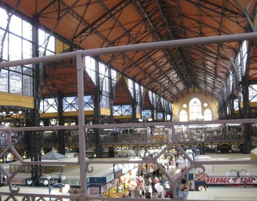 Blick in Markthalle